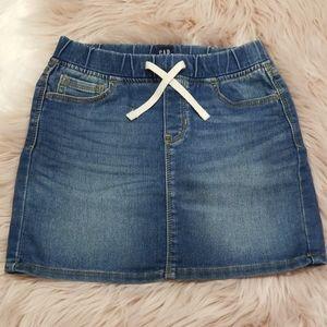 Girls GapKids Denim Skirt